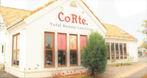 倉敷の美容院CoRte. grass店の外観